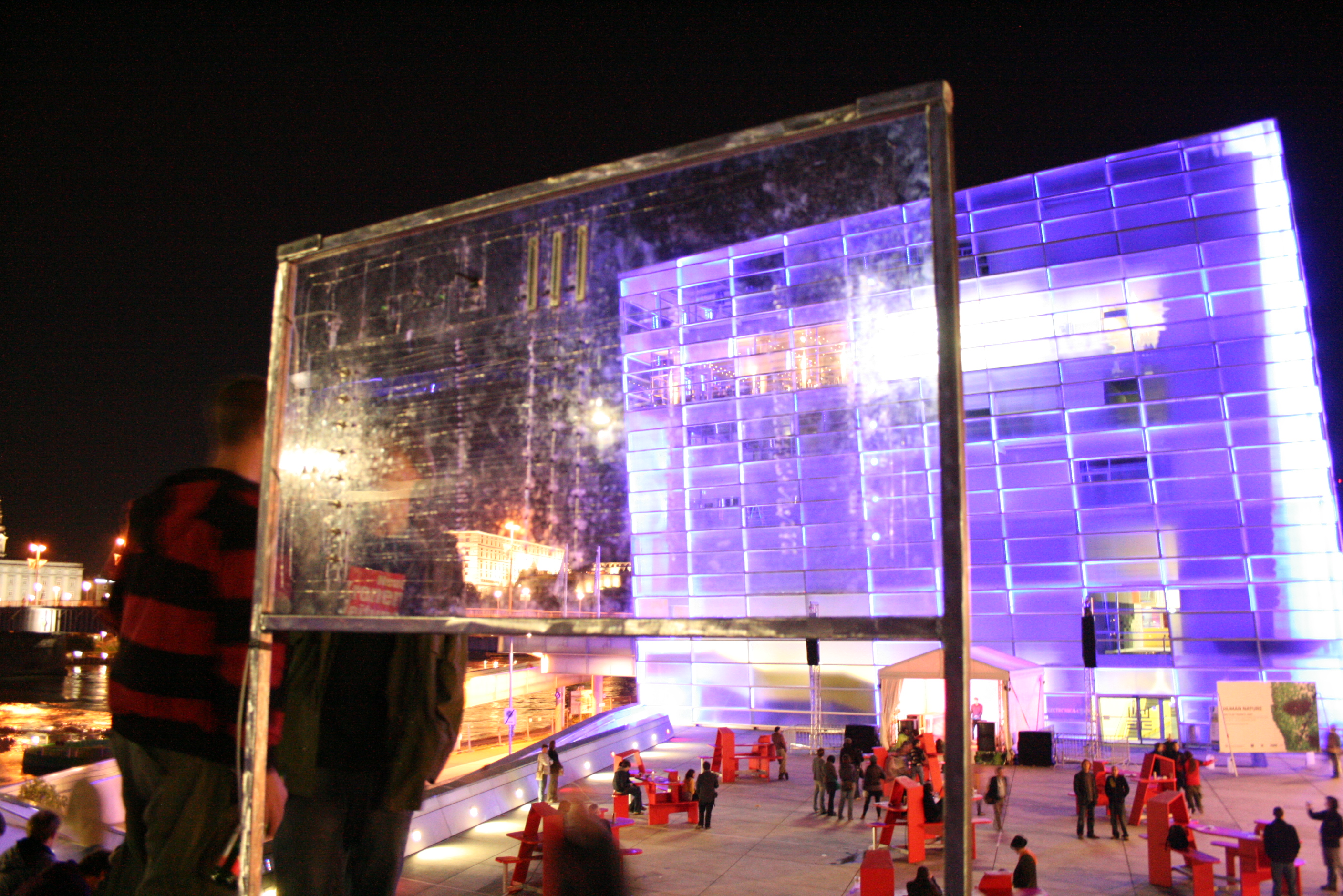 Interface to control the Ars Electronica center's facade.