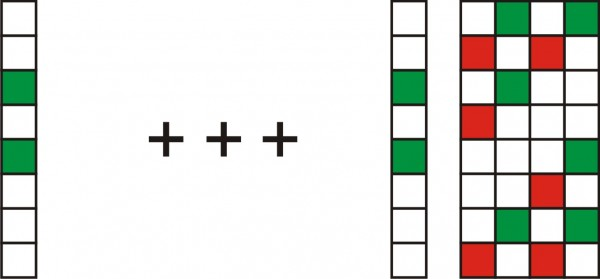 This picture shows how the lines are join together.