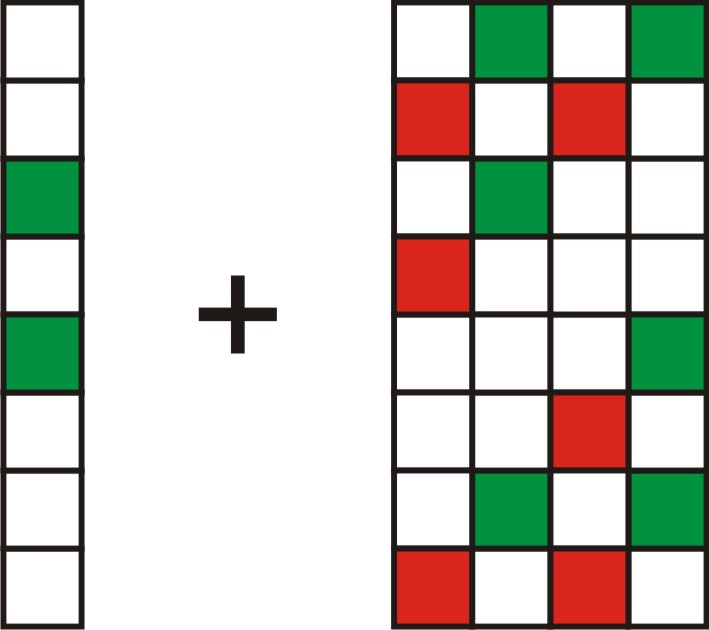 This picture shows how the lines are added to create a complex pattern.