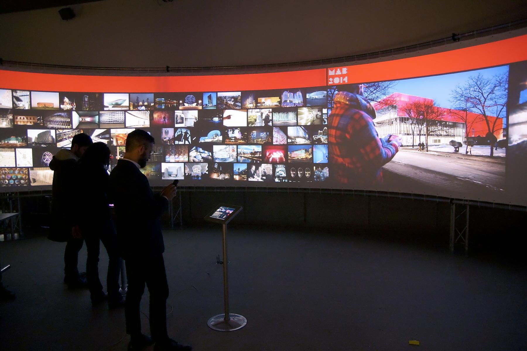 Digital Architecture exhibition © Juan Carlos Carvajal B.